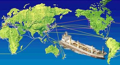 The logistics network all over the world